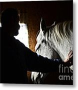 The Bond Metal Print