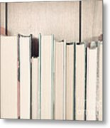 The Book Collection Metal Print