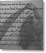 The Book Of Ruth Metal Print