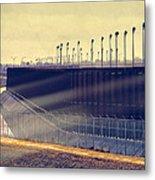 The Border Metal Print