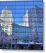 The Boston Skyline Metal Print by JC Findley