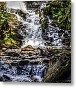 The Bottom Of Mingo Falls Metal Print