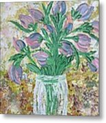 The Bouquet II Metal Print by Molly Roberts