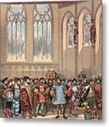 The Bourgogne Herald, Sent By Charles Metal Print