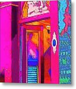 The Boutique Upstairs Metal Print