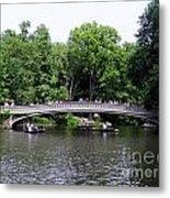 The Bow Bridge Metal Print