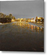 The Bow River Metal Print