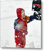 The Boy And The Box 2 Metal Print