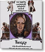 The Boy Friend, Us Poster Art, Twiggy Metal Print by Everett