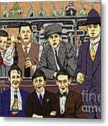 The Boys At Blackpool Metal Print
