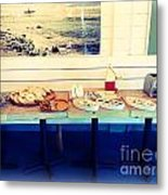 The Breakfast Room Metal Print