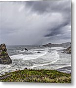 The Brewing Storm Metal Print
