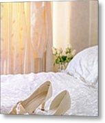The Brides Sandals Metal Print