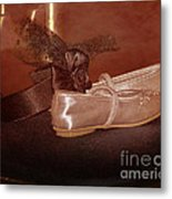 The Bridesmaid's Shoes Metal Print by Terri Waters