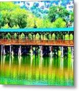 The Bridge 16 Metal Print