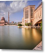 The Bridge And The Mosque Metal Print