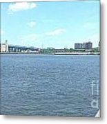The Bridge And The River Metal Print