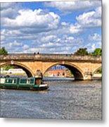The Bridge At Henley-on-thames Metal Print