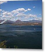 The Bridge At Roosevelt Lake Metal Print