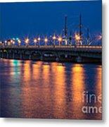 The Bridge Of Lions St. Augustine Florida Metal Print