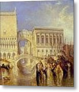 The Bridge Of Sighs Metal Print