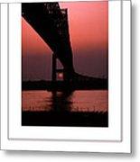 The Bridge Poster Metal Print