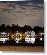 The Bright Lights Of Boathouse Row Metal Print