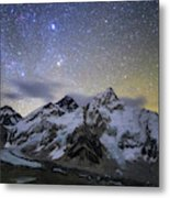 The Bright Stars Of Auriga And Taurus Metal Print