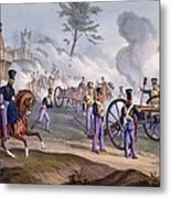 The British Royal Horse Artillery - Metal Print
