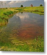 The Brittany Countryside Metal Print
