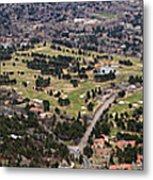 The Broadmoor Panoramic Metal Print