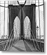 The Brooklyn Bridge Metal Print