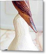 The Brown Bird Metal Print