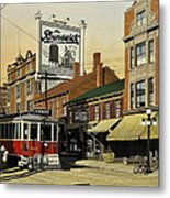The Brunswick 1916 Metal Print