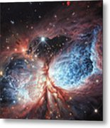 The Brush Strokes Of Star Birth Metal Print