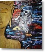 The Buddha Way Metal Print