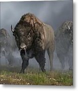 The Buffalo Vanguard Metal Print