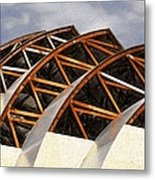 The Building Of Kauffman  Metal Print