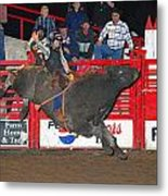 The Bull Rider Metal Print