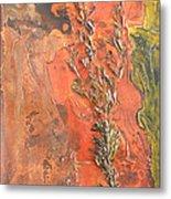 The Burn - Panel I Metal Print