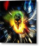 The Burning Metal Print by Frederico Borges