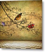 The Butterfly Room Metal Print