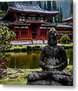 The Byodo-in Temple 1 Metal Print