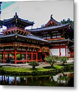 The Byodo-in Temple Metal Print