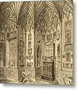 The Cabinet, Engraved By T. Morris Metal Print