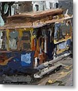The Cable Car Metal Print