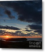 The Calf From A Hilltop In Twilight I Metal Print