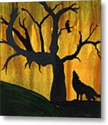 The Call And Response Of The Wild Metal Print