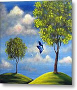 The Call Of Spring By Shawna Erback Metal Print