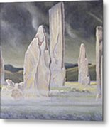 The Callanish Legend Isle Of Lewis Metal Print